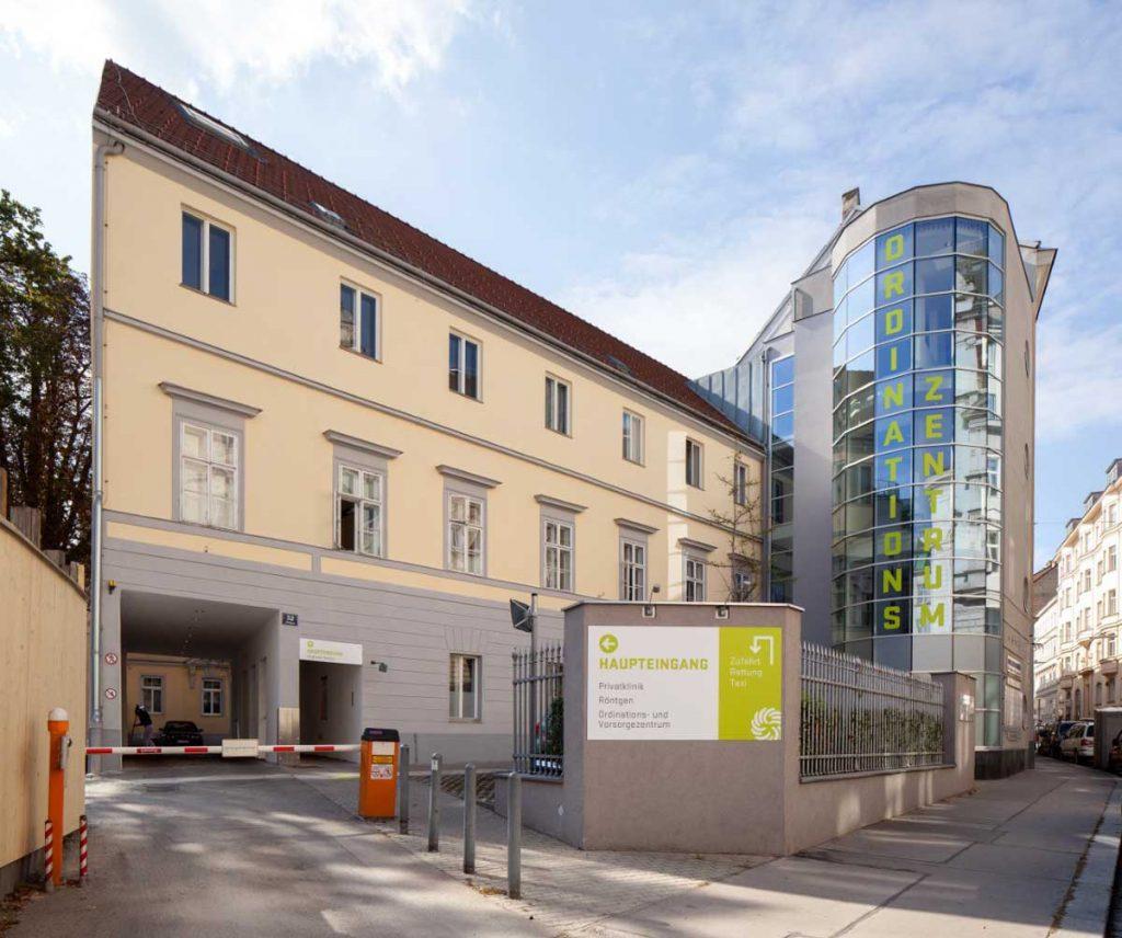 Confraternität Privatklinik Josefstadt Skodagasse Wien