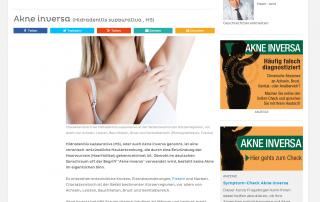 Hautarzt Dr. Okamoto informiert auf netdoktor.at über Akne inversa