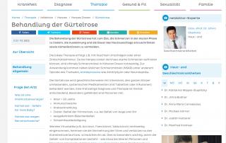 Hautarzt Dr. Okamoto ist Experte bei Netdoktor.at und informiert über die Behandlung von Gürtelrose